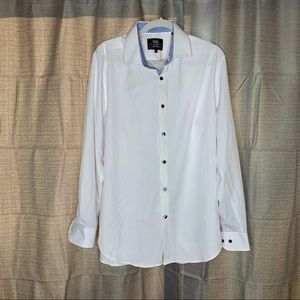 W.R.K. SOLID button down SHIRT